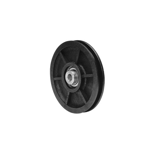 4 Inch Nylon Pulley and Precision Bearing (300 lb Load)