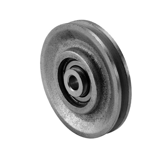 3 Inch Cast Iron Pulley and Precision Bearing (300 lb Load)