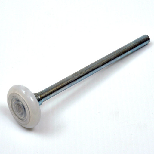 Nylon rollers for garage doors