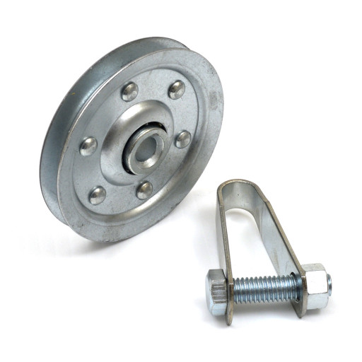 Garage Door 3 Inch Pulley w/Fork Bolt And Nut (Sold Each)