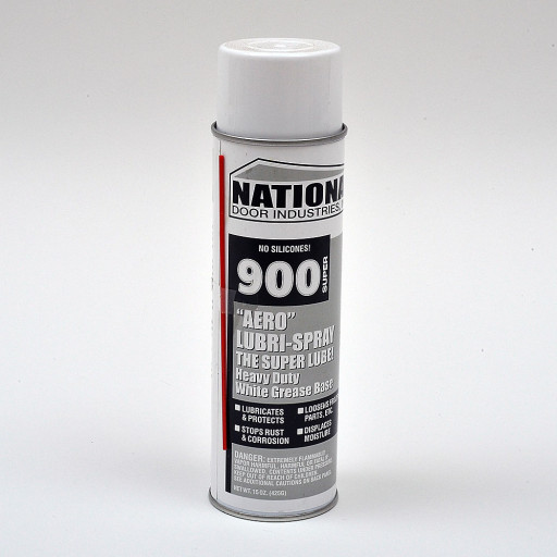 National 900 Aero Lubri-Spray Lube15oz Aerosol (Silver)