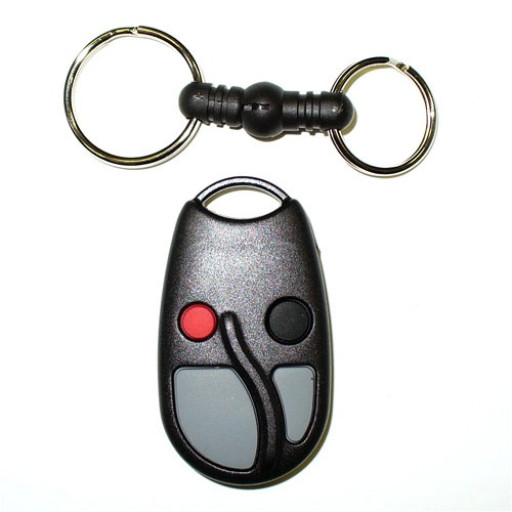 Linear ACT-34B 4-Channel Block Coded Key Ring Transmitter