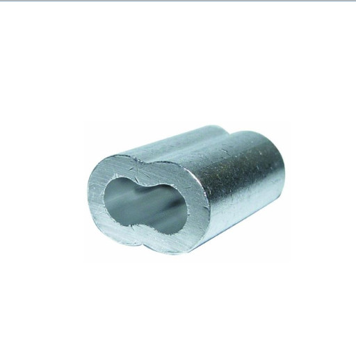 1/8 Inch Aluminum Cable Crimps/SLEEVES (100/pkg )