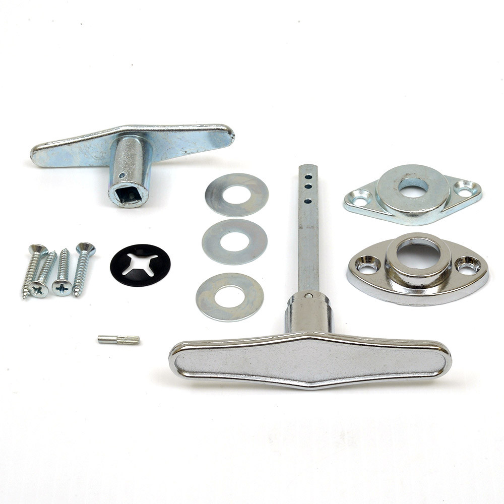 Buy garage door lock t handle assembly online for Door handle with lock