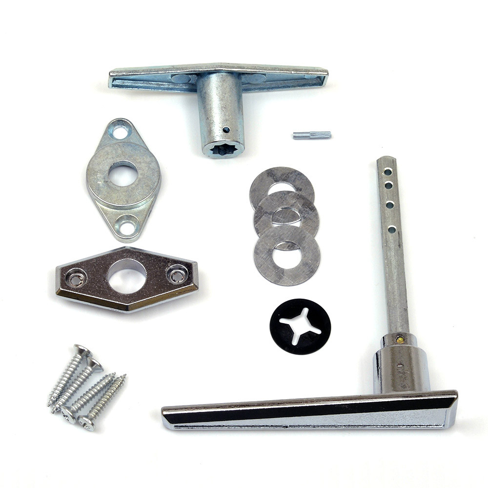 Buy garage door lock l handle assembly online for Door handle with lock