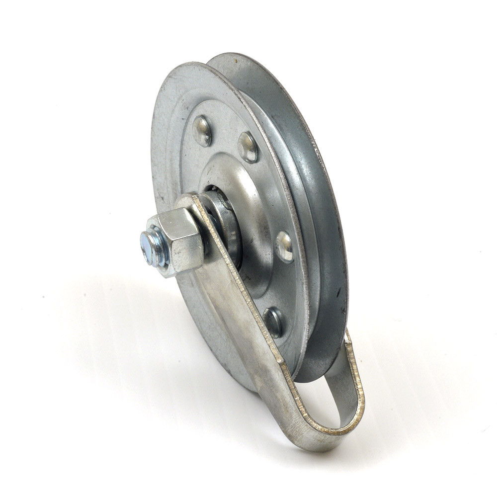 Buy Garage Door 3 Inch Pulley W Fork Bolt And Nut Sold
