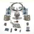 Buy Garage Door Lock Kit W Spring Latch Keyed In Handle