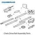 Chamberlain 41A5665 Rail Assembly (Square Rail)