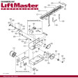 Liftmaster 75-10174 Front Idler Assembly