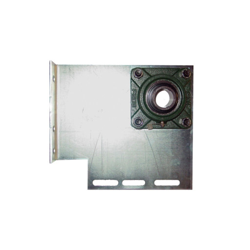 Heavy Duty Garage Door End Bearing Plates 7.5 Inch Offset (Pair) (1.25 Inch Bore)