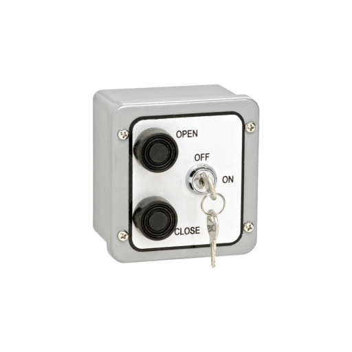 2BXL Nema 4 Exterior Two Button With Lockout Surface Mount Control Station
