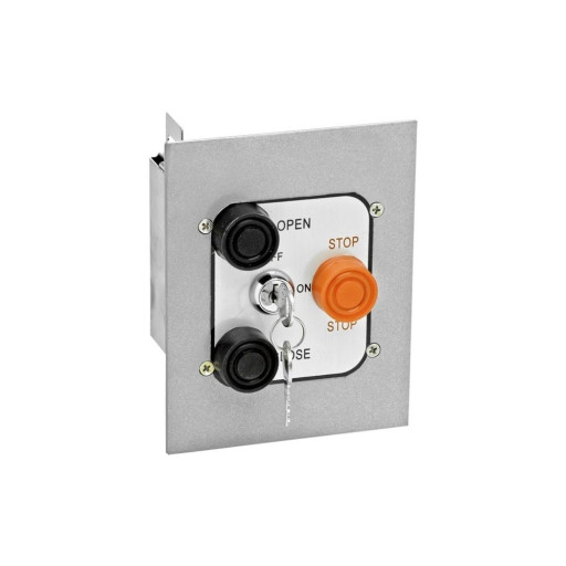 3BFL Nema 1 Interior Three Button With Lockout Flush Mount Control Station