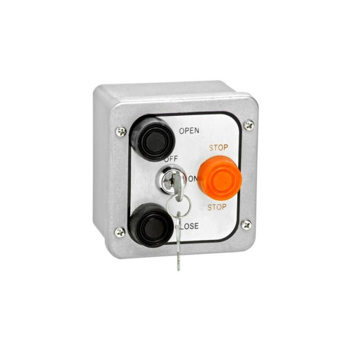 3BXL Nema 4 Exterior Three Button With Lockout Surface Mount Control Station