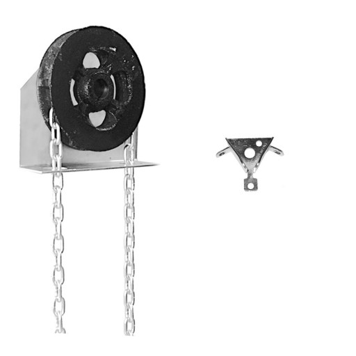 Garage Door Chain Hoist Model 200 D (1 Inch Shaft)