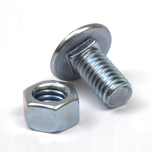 Buy Round Head Low Shoulder Carriage Bolts And Nuts 3 8