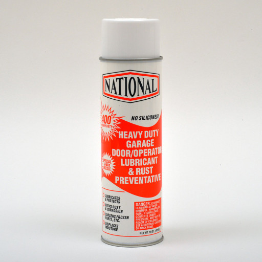400-HD National Door Lube 15oz Aerosol (Case 12 Cans) (Orange)