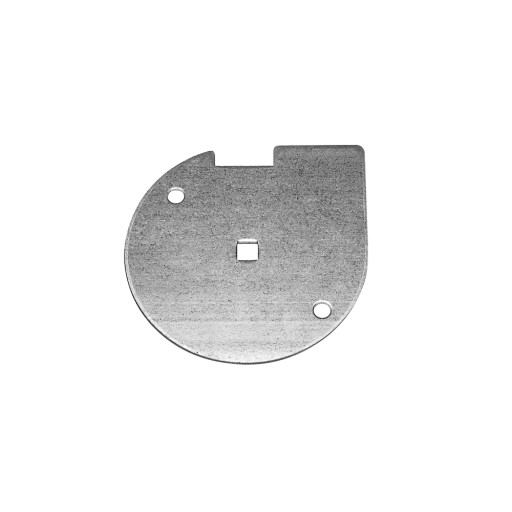 Garage Door Inside Lock Bar Disc Galvanized Steel