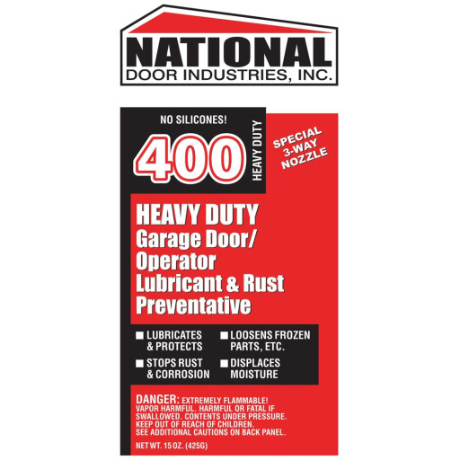 Buy 400 Hd National Door Lube 15oz Aerosol Orange 2