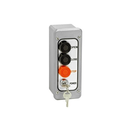 PBTL-3 Nema 4 Exterior Three Button With Lockout Surface Mount Control Station