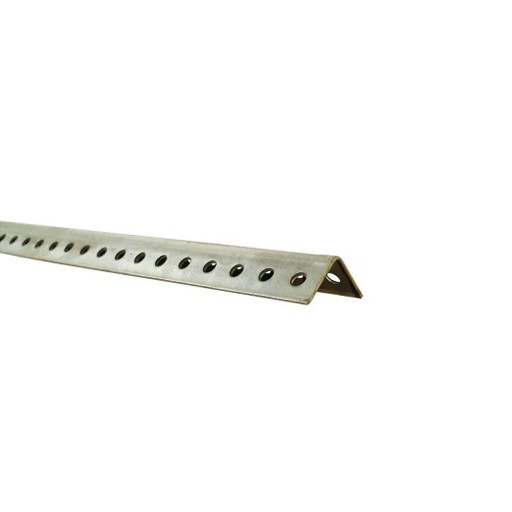 18 Ga Perforated Angle 1-1/4 Inch X 1-1/4 Inch X 8 Foot