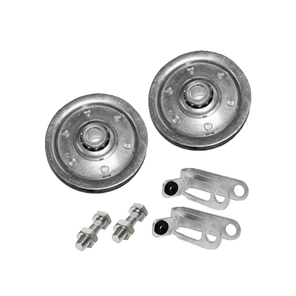 Buy Garage Door Pulley 3 Quot And Safety Cable Guide For