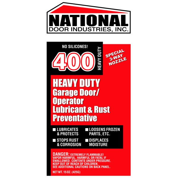 Buy 400 Hd National 400 Garage Door Lubricant 15oz Aerosol