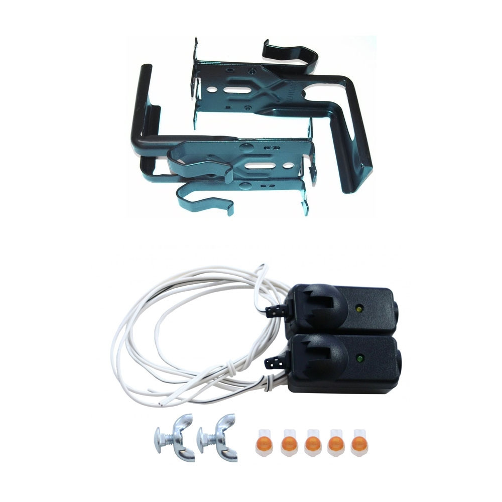 41A4373 Replacement Kit /w 41A5266-3 Brackets And 41A5034 Sensors For  Craftsman Chamberlain Liftmaster