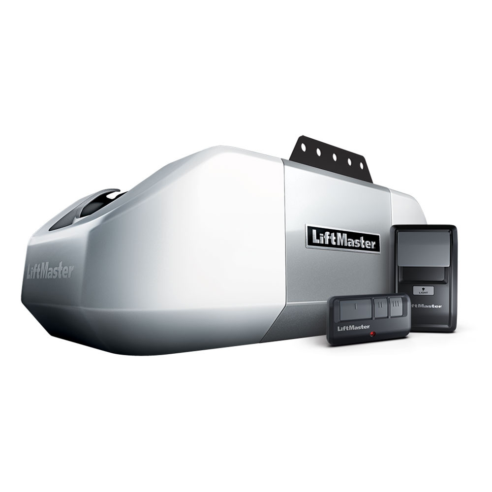 Liftmaster 8355w 1 2 Hp Ac Belt Drive Wi Fi Garage Door Opener W Rail