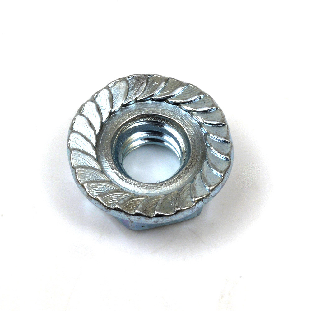 Buy Serrated Flange Nuts 1 4 20 Qty 100 Online