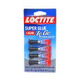 Loctite® Super Glue Liquid Mini (4 Pack)