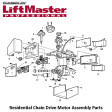 Liftmaster 12A373 Capacitor Bracket