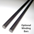 "2"" ID Coated Garage Door Torsion Springs w/ Cones Optional Winding Bars"